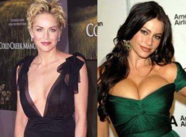Sharon Stone diventa lesbica, set bollente con Sofia