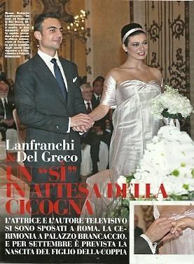Roberta Lanfranchi si è sposata